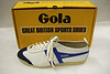 Gola trainer with original shoe box