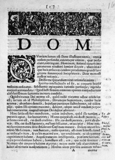 [Quoniam lumen est Deus illustrans omnia, omnia eodem perfundit, cuicumque etenim, quae perfi-ciant, contingunt ...]