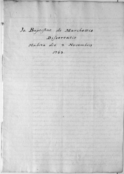 Dissertatio de physica