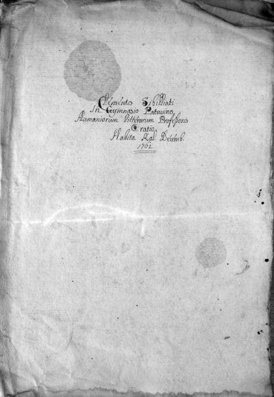 Eloquentiae studium civitatibus proclivisque rebus utilissimum