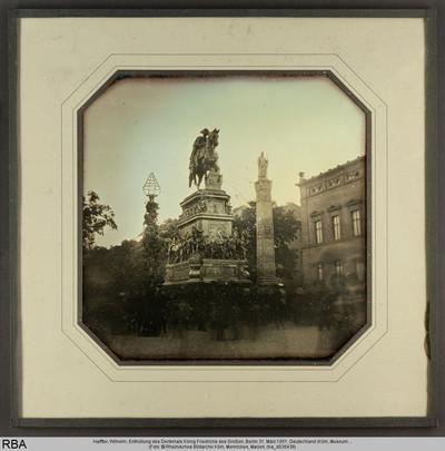 Enthüllung des Denkmals König Friedrichs des Großen, Berlin 31. März 1851