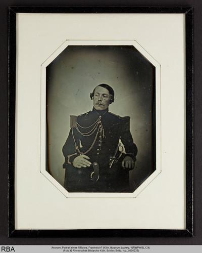 Portrait eines Offiziers