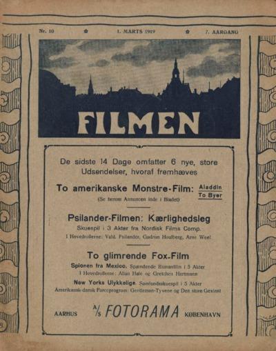 Filmen Nr. 10 - 7. AARGANG 1919 (113-128)