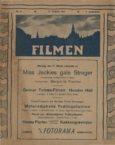 Filmen Nr. 11 - 7. AARGANG 1919 (129-140)