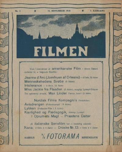 Filmen Nr. 3 - 7. AARGANG 1918 (25-36)