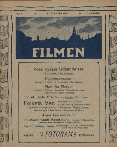 Filmen Nr. 4 - 7. AARGANG 1918 (37-48)