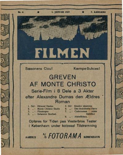 Filmen Nr. 6 - 7. AARGANG 1919 (64-76)
