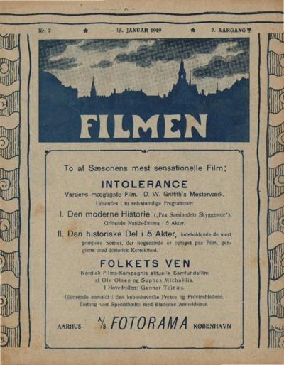 Filmen Nr. 7 - 7. AARGANG 1919 (77-88)