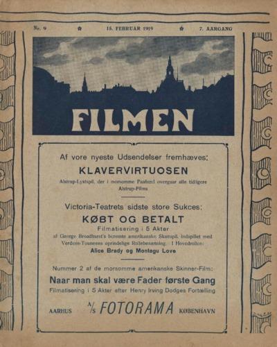 Filmen Nr. 9 - 7. AARGANG 1919 (101-112)