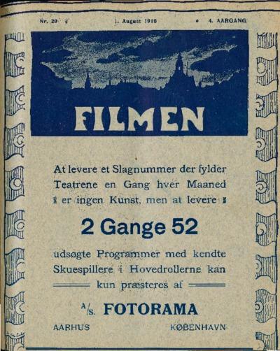 Filmen Nr. 20 - 4. AARGANG 1916 (175-190)