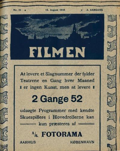 Filmen Nr. 21 - 4. AARGANG 1916 (191-202)