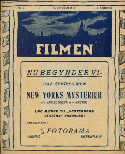 Filmen Nr. 1 - 6. AARGANG 1917 (1-12)
