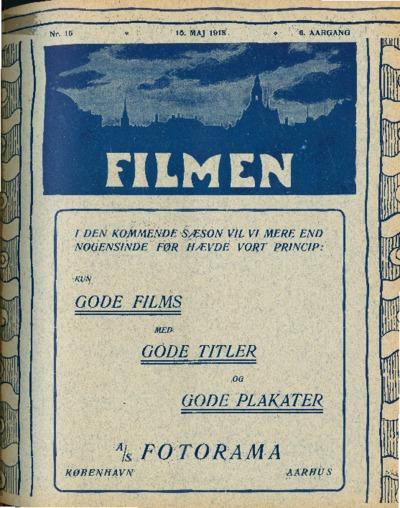 Filmen Nr. 15 - 6. AARGANG 1918 (149-156)