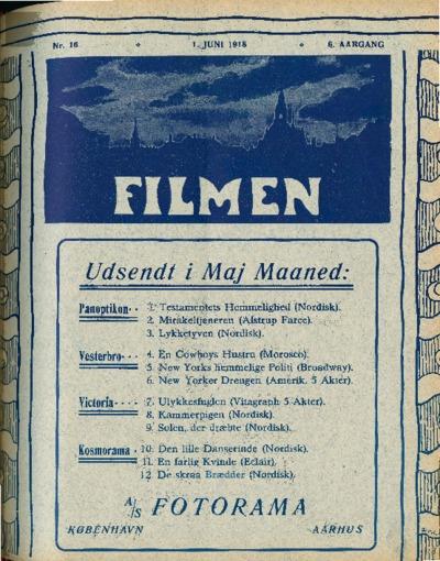 Filmen Nr. 16 - 6. AARGANG 1918 (157-168)