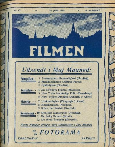Filmen Nr. 17 - 6. AARGANG 1918 (169-176)