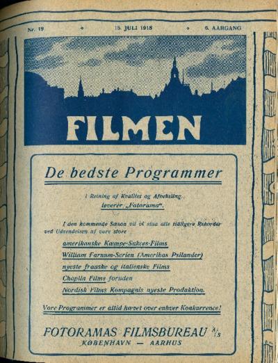 Filmen Nr. 19 - 6. AARGANG 1918 (189-196)