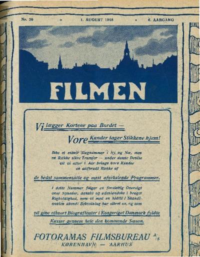 Filmen Nr. 20 - 6. AARGANG 1918 (197-216)