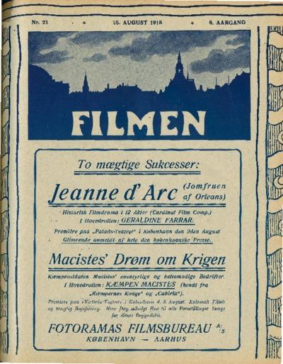 Filmen Nr. 21 - 6. AARGANG 1918 (217-228)