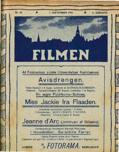 Filmen Nr. 22 - 6. AARGANG 1918 (229-244)