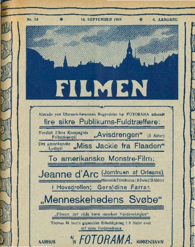 Filmen Nr. 23 - 6. AARGANG 1918 (245-260)