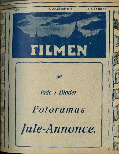 Filmen Nr. 5 - 6. AARGANG 1917 (49-60)