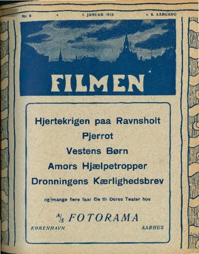 Filmen Nr. 6 - 6. AARGANG 1918 (61-68)
