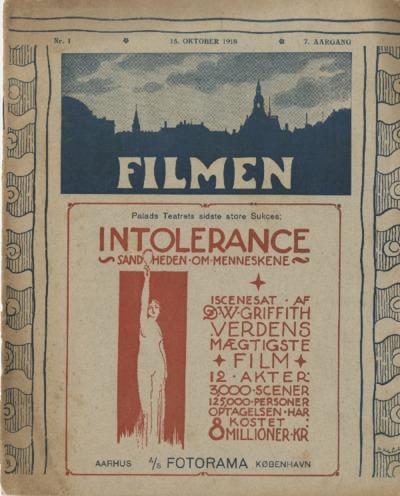 Filmen Nr. 1 - 7. AARGANG 1918 (1-12)