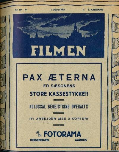 Filmen Nr. 10 - 5. AARGANG 1917 (117-124)
