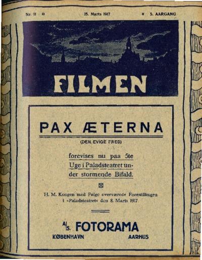 Filmen Nr. 11 - 5. AARGANG 1917 (125-132)