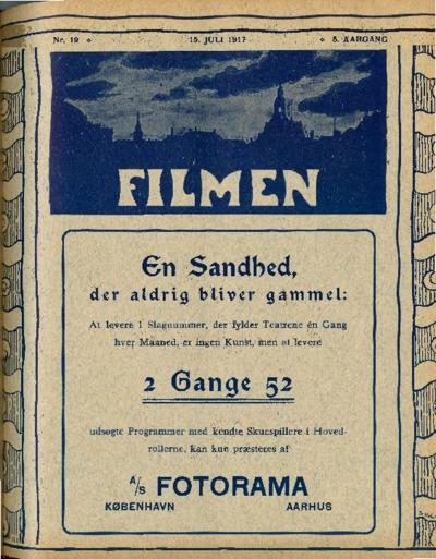 Filmen Nr. 19 - 5. AARGANG 1917 (193-212)