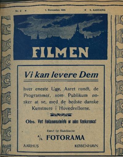 Filmen Nr. 2 - 5. AARGANG 1916 (13-24)