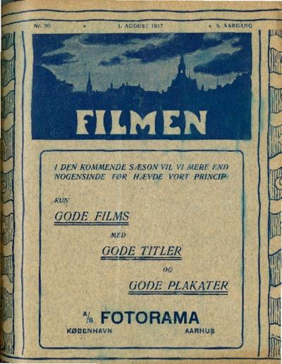 Filmen Nr. 20 - 5. AARGANG 1917 (213-224)