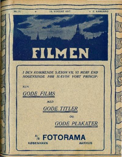 Filmen Nr. 21 - 5. AARGANG 1917 (225-236)