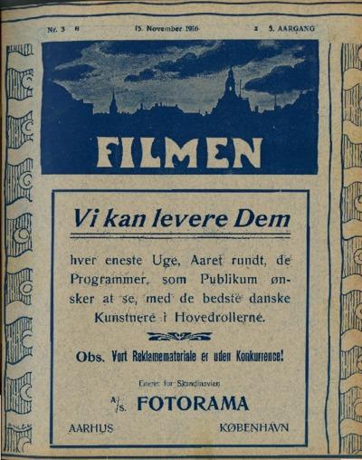 Filmen Nr. 3 - 5. AARGANG 1916 (25-32)