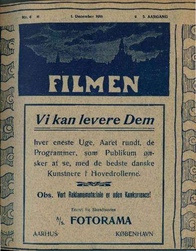 Filmen Nr. 4 - 5. AARGANG 1916 (33-44)