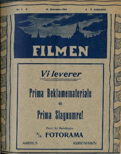 Filmen Nr. 5 - 5. AARGANG 1916 (45-56)