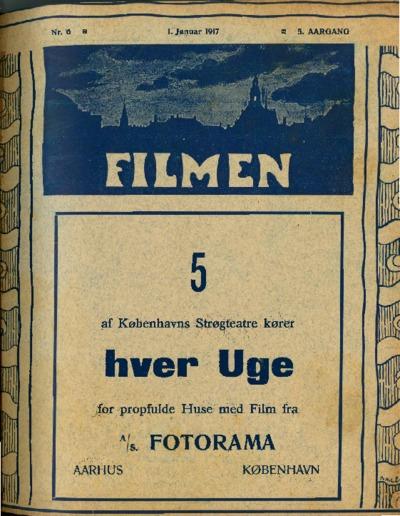 Filmen Nr. 6 - 5. AARGANG 1917 (57-72)