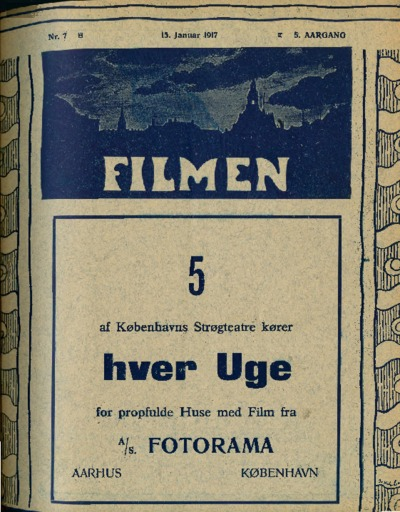 Filmen Nr. 7 - 5. AARGANG 1917 (73-88)