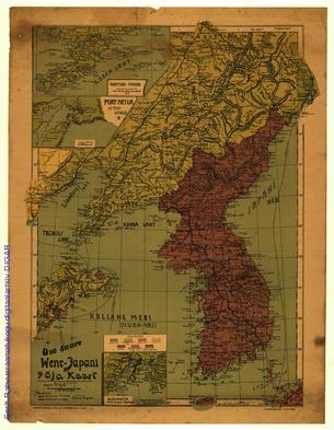 Uus suure Wene-Jaapani sõja kaart