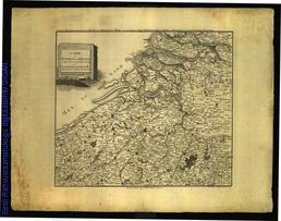 Carte des environs de l'Escaut