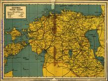 Eestimaa teede kaart