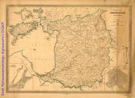 Карта Лифляндской губернии