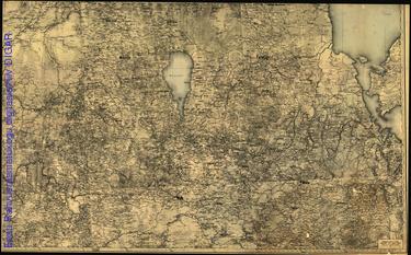 Eestimaa kaart. I leht, Liivimaa idaosa
