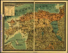 Eestimaa geoloogiline kaart
