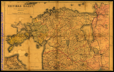 Eestimaa kaart