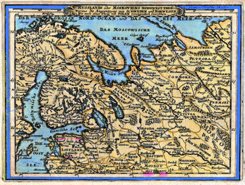 Russlands oder Moskoviens nord-west Theil