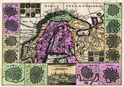 Kaart van Sweden