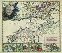 Nova et Accuratissima Tabula Regionum ad Sinum Finnicum
