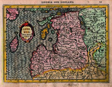 Livonia: Livonia sive Liefland