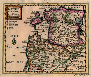 Livonie, Curlande et Samogitie